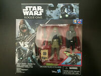 STAR WARS 2 PACK ROGUE ONE REBEL COMMANDER PAO & IMPERIAL DEATH TROOPER