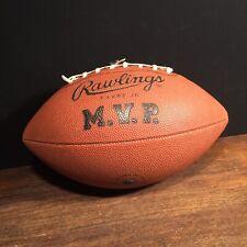 Vintage Brett Favre Jr. Football Rawlings M.V.P. Usa Leather Priority Mail