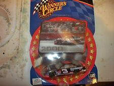 NASCAR DALE EARNHARDT 2000 CARD & CAR #3 SUPER NICE COLLETABLE