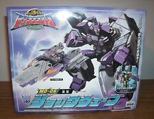 Takara Tomy Armada MD-06 Shockwave Tidalwave,Micron Legends,MISB sealed box