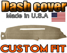 fits 1997 1998  GMC  SIERRA   DASH COVER MAT DASHBOARD PAD  /  BEIGE