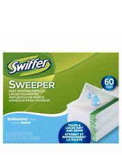 Swiffer Sweeper and Duster Wet Mopping Refill 60 Cloths