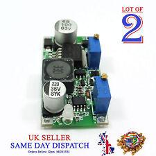 2x 60V DC-DC LM2596 3A Buck Constant Current/Voltage CC CV Step-Down Module