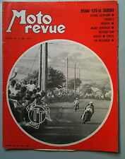 MOTO REVUE N°1986; Essai 125 CC Suzuki / Tourist Trophy / Cross en Belgique
