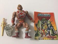 1984 MOTU Thunder Punch He-Man W/ Rare Comic