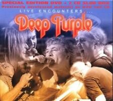 "DEEP PURPLE ""LIVE ENCOUNTERS"" 2 CD+DVD NEW!"