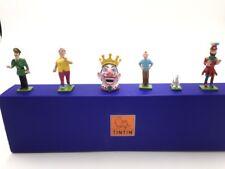 Figurine Tintin mini Pixi tintin et les picaros proche du neuf boite Certificat