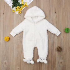 603e91185 Newborn Baby Infant Boy Girl Romper Hooded Jumpsuit Bodysuit Outfits Clothes  USA