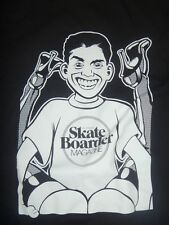 """RARE SKATEBOARDER MAG 20th ANNIVERSAY OF BLIND VIDEO DAYS """"REAR END RUDY"""" TEE M"""