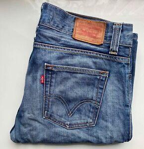 Vintage LEVI's Original Jeans Denim Bootcut 512 W34 L36 blau hell Waschung LEVIS