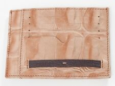 New Roberto Cavalli Freedom Collection Beige Credit card holder