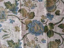 SIMTA tessuto stoffa scampolo floreale ricamato collezione PRIMAVERA originale
