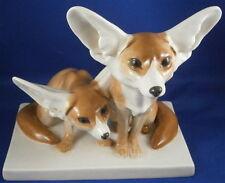 Meissen Porcelain Fennec Desert Fox Figurine Figure Porzellan Figur Wustenfuchs