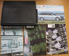 BMW 3 SERIES TOURING E46 HANDBOOK OWNER MANUALS WALLET 1999-2005 PACK 16343