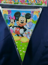 Mickey Mouse Party decoration Flag Banner Buntings, Party supplier, 3.5m long