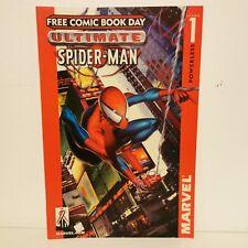 ULTIMATE SPIDER-MAN #1 Free comic book day - Marvel Comics Originale USA