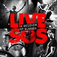 5 Seconds Of Summer ‎– LIVESOS (2014)  CD  NEW/SEALED  SPEEDYPOST