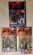 Lot of 3 Spider-Man Movie series Doctor Octopus Tobey Maguire Toy Biz NIP Doc Oc