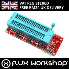IC Programmer Adapter Module ICD2 PICKIT3 DIP40 16F57 ZIF PIC10EX Flux Workshop
