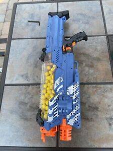 Nerf Rival Nemesis Mxvii-10k Blue - High-impact Rounds