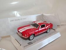 """1967 Shelby GT500 Red Die Cast Metal Model Car 5"""" Kinsmart Collectable New"""