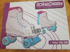 Roller Skates Star 600 Quad Women's White Purple Blue size 8