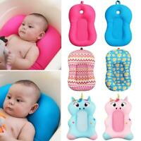 Portable Baby Non-Slip Bath Cushion Bathtub Mat Infant Safety Soft Seat Support