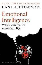 Emotional Intelligence: Why it Can Matter More Than IQ by Daniel Goleman (Paperback, 1996)