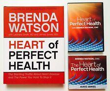Heart of Perfect Health - Brenda Watson - Book, DVD & Audio CD Set (eb2)