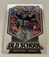 Emmit Smith 2020 Panini NFL Mosaic Old School #OS8 Cowboys