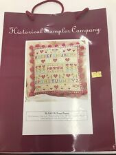 historical sampler company The Owl & The Pussycat Tapestry Cushion Kit