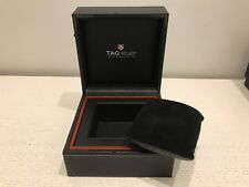 Estuche TAG HEUER Case - Used - Black Leather - Relojes Watches Montres