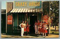 VNGT Postcard~ Six Flags Over Texas~ The Crazy Horse Saloon~ Coca-Cola~ c409
