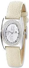 Ladies Charles Hubert White Stingray 0.75ctw Diamond 29x32mm Watch
