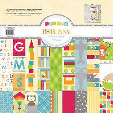 BoBunny TOYBOX Collection Scrapbook Paper Kit Bo Bunny new 12x12