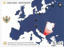 85543 / Block ** MNH 50 Jahre Cept Montenegro