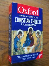 OXFORD CONCISE DICTIONARY OF THE CHRISTIAN CHURCH
