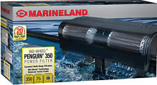 Aquarium Fish Tank Filter 350 Power 75 Gallons Bio Wheel 3 Stage Filtration New
