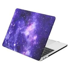 "GALAXY PURPLE Matte Case for Macbook Pro 15"" A1707 With Touch Bar - Release"