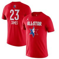 NIKE Lebron James 23 All Star Game Jersey T-Shirt XX-Large Red Basketball ASG