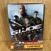 G.I. JOE RETALIATION +THE RISE OF COBRA DVD Widescreen (2) Disc New Sealed