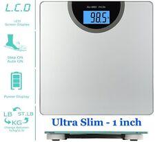 Bath Scale Jobar International JB5824 Extra Wide Bathroom Weight Body LCD BMI