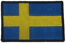 BRAND NEW SWEDEN SWEDISH STATE COUNTRY FLAG IRON ON PATCH