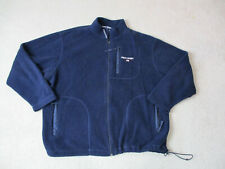 VINTAGE Ralph Lauren Polo Sport Jacket Adult Extra Large Blue White Spell Out A7