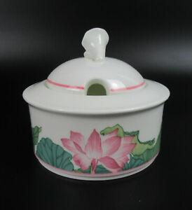 Villeroy & Boch Porzellan Zuckerdose Serie Jade V&B Porcelain Sugar Pot