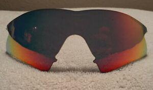 Oakley M Frame Positive Red Iridium Sweep Lens - VERY NICE