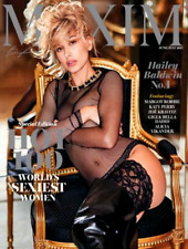 MAXIM Magazine June July 2017 HAILEY BALDWIN, Katy Perry, Zoe Kravitz, G Hadid