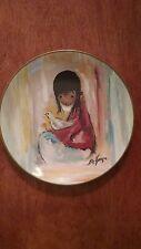 """""""The White Dove"""", De Grazia Limited Edition collector plate, 1997"""