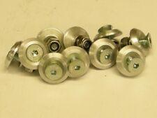 10 Fairing washers M6 countersunk C/W Screws and Nylocs 10 pieces CNC Aluminium