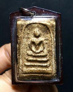 PHRA SOMDEJ TOH WAT RAKUNG.Thai Buddha Amulet